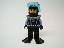 LEGO Figur Aqua Riders Taucher Diver Nr. 6 aqu025 Set 7771 7773