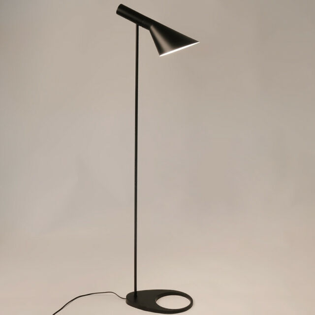 New Louis Poulsen Arne Jacobsen Aj Floor Lamp Led Lighting Lights Black White