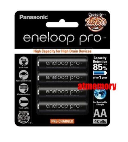 Panasonic-Eneloop-Pro-2550mAh-AA-Precharge-NiMH-Rechargeable-Battery-Sanyo