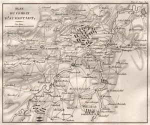 War Of The Fourth Coalition Thuringia 1819 Old Map To Clear Out Annoyance And Quench Thirst Good Battle Of Auerstedt 1806