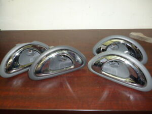 FORD-FALCON-EL-EF-INTERIOR-DOOR-HANDLE-GREY-SET-OF-4