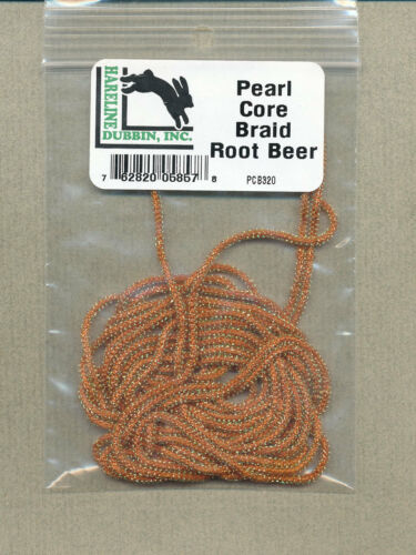 root beer     PCB320 Pearl core braid