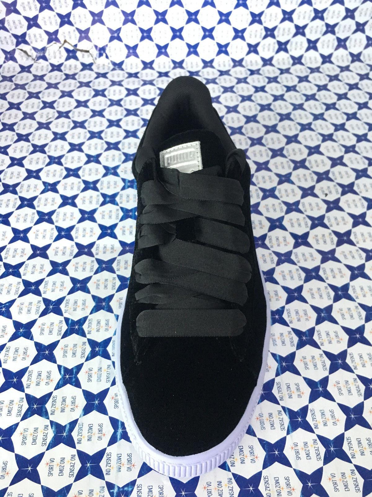 shoes Puma women SCONTATE   Basket Classic Classic Classic Velour VR - black Lilla - 364114 ef0b94