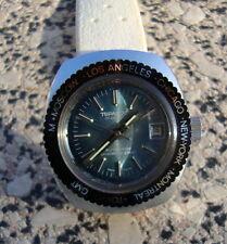 Topaz 200 17 Jewels Automatik Uhr vintage swissmade worldtimer watch Damenuhr