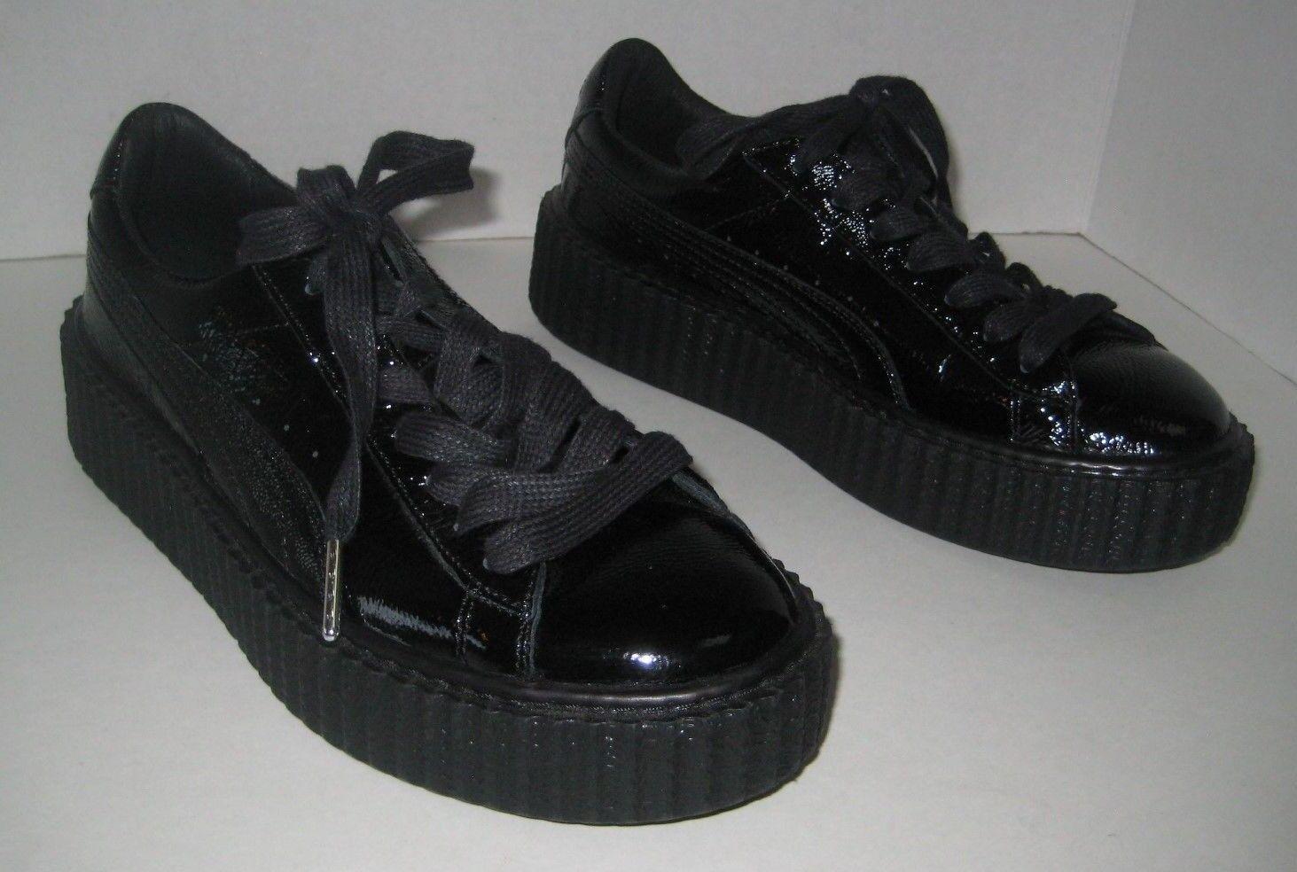 Puma fenty da rihanna nero creeper e scarpe da ginnastica le dimensioni 7