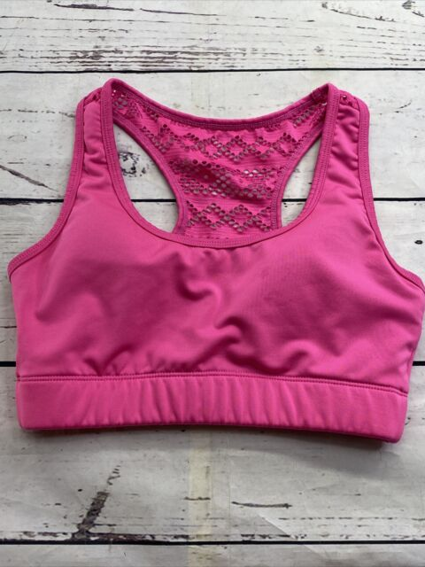 Zyia Active Women's Bomber Bra  Hit Pink Small/Medium No Size Tag See Pic Measur