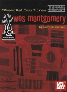 Essential Jazz Lines In The Style Of Wes Montgomery Guitar Tab Music Book/audio-afficher Le Titre D'origine