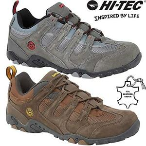 MENS HIKING BOOTS WALKING ANKLE LACE UP TRAIL CASUAL TREKKING TRAINERS SHOES SZ