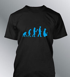 5d37c863434d0 T-shirt customised man evolution petanque L XL humor human sport ...