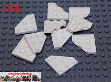 10 x 2450 neu LEGO Keilplatte 3 x 3 dunkelbraun
