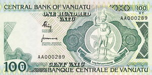 WunderschöNen Vanuatu 100 Vatu (1982) Pick 1 (1)