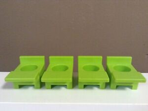 LITTLE-PEOPLE-VINTAGE-SCHOOL-DESK-CHAIR-LOT-SCHOOL-HOUSE-PART-FISHER-PRICE