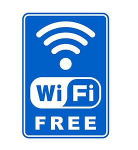 free WiFi Aufkleber Sticker WLAN Gratis Warnschild Schaufenster Cafe - <span itemprop='availableAtOrFrom'>Hannover, Deutschland</span> - free WiFi Aufkleber Sticker WLAN Gratis Warnschild Schaufenster Cafe - Hannover, Deutschland