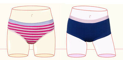 Shorty Panties THINX BTWN Teen Period Underwear