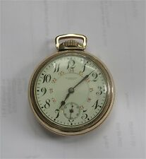 Longines Pocket Watch CPR EXPRESS LEADER 17j-5 pos. 18 size 24 hour sunk dial