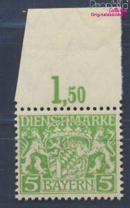 Baviera-d17w-examinado-papel-de-paz-y-engomado-de-paz-nuevo-1916-Emblem-8357920
