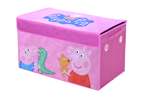 Peppa Pig Collapsible Storage Trunk Toy Boxes Organizers Furniture Chests Home