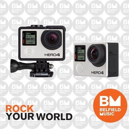 GoPro HERO4 - Black Music Edition Professional Video Camera Go Pro Hero 4 -BNIB