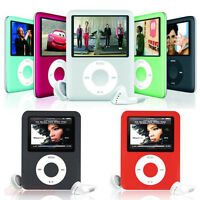 "8GB MP3 1.8"" Slim 3rd MP4 Player LCD Screen Media Video Music FM Radio Games"
