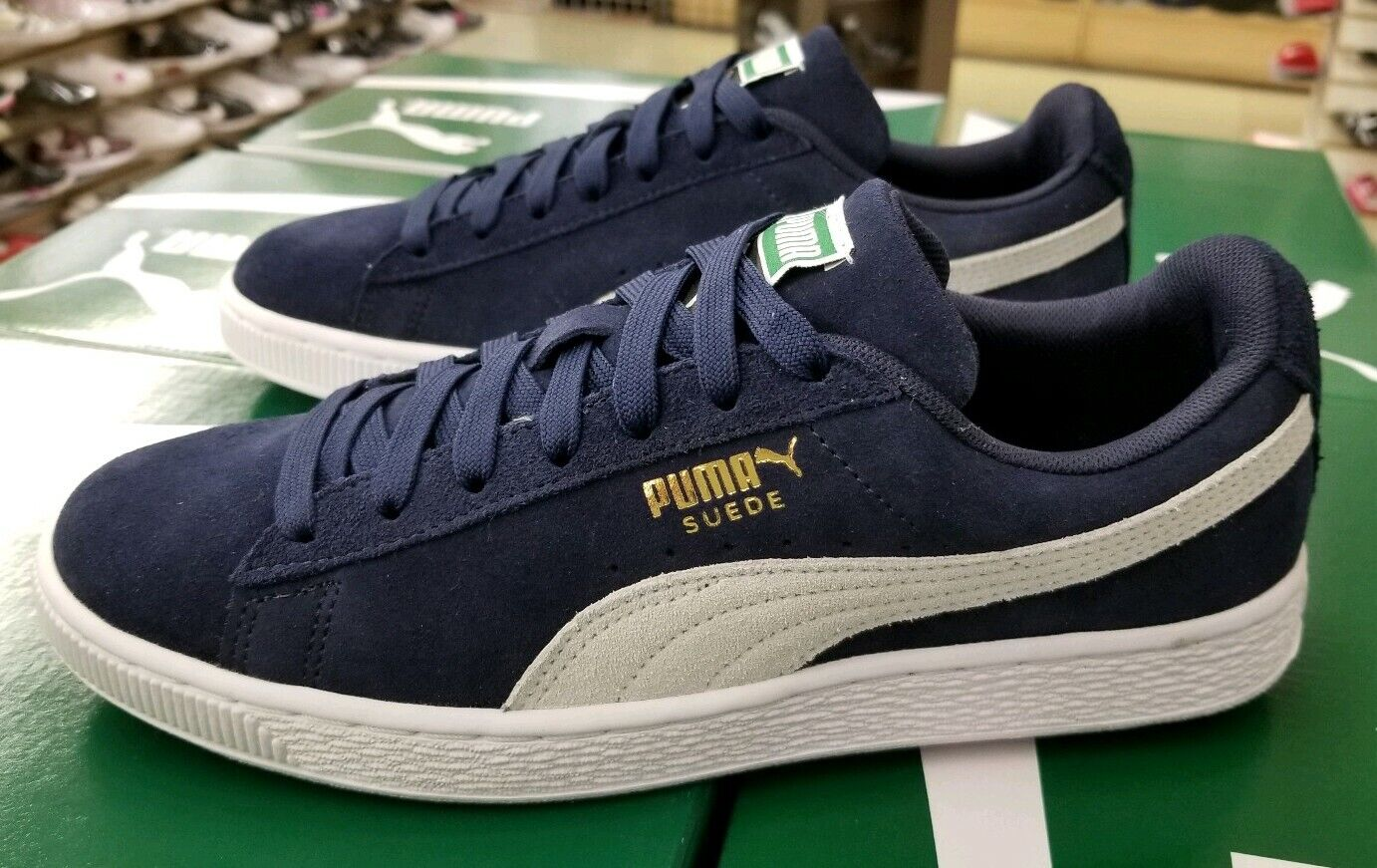 Size 8.5 - PUMA Suede Classic Peacoat 2019 for sale online | eBay