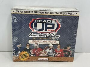 2004-Pacific-Trading-Cards-Heads-Up-Sweater-Edition-NHL-136-Cards-NEW-Sealed