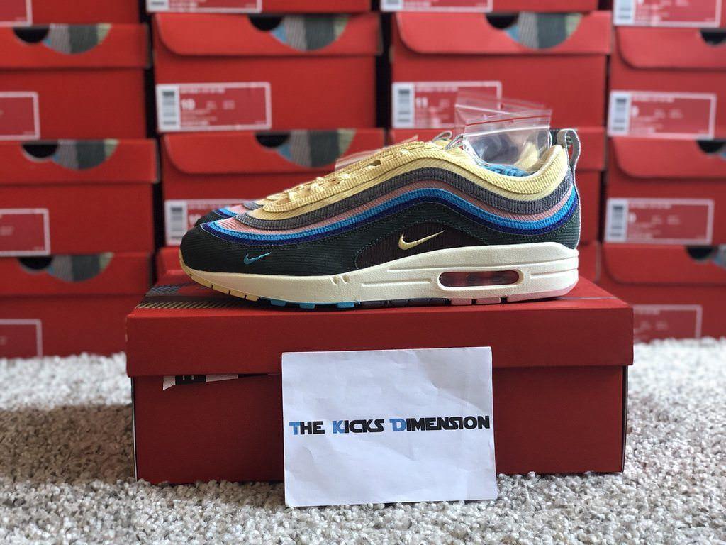 Nike Air Max 1/97 Sean Wotherspoon -9/EU 44/US 10 - AJ4219-400