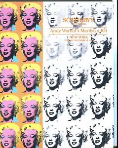 Sothebys-Auction-Catalog-Nov-17-1992-Andy-Warhol-039-s-Marilyn-x-100