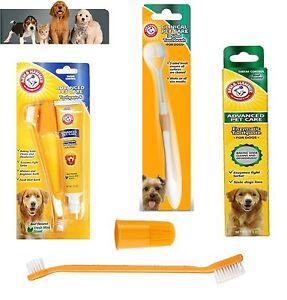 Arm Amp Hammer Dental Care Dog Puppy Pet Toothbrush