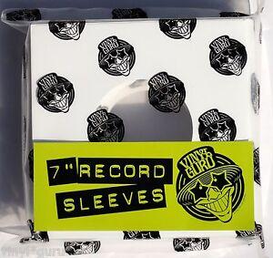 Vinyl Guru 7 Quot Inch 45rpm Vinyl Record White Card Sleeves