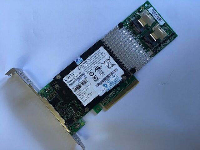 6Gbps 8Port HBA PCI-E SATA SAS Controller Card 9750-8i Intel SAS2108-8i