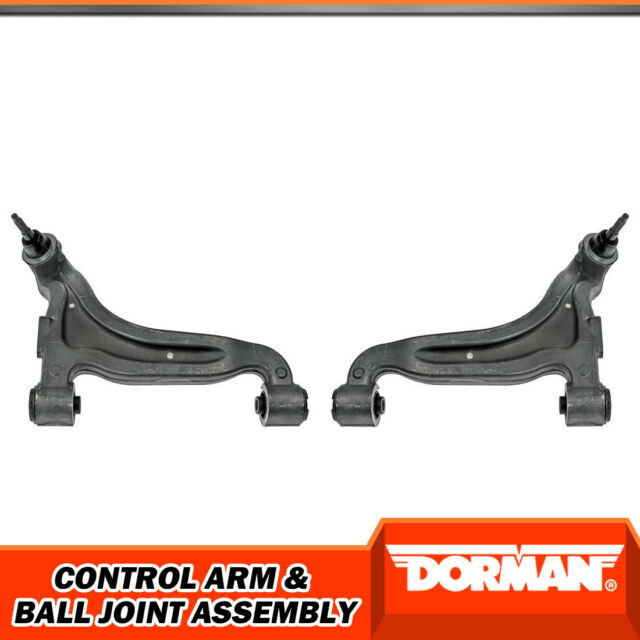 Dorman Rear Upper LH RH Control Arms With Ball Joints For