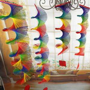 Wind-Spinner-Bamboo-Handmade-Colorful-Hanging-Yard-Decoration-5-Sizes