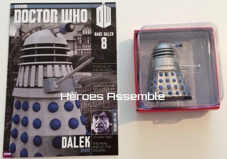 DOCTOR WHO FIGURINE COLLECTION RARE GUARD DALEK  8 SUBSCRIBER EAGLEMOSS SD8 NEW