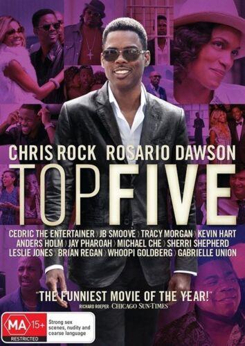 1 of 1 - Top Five (2014) Chris Rock, Rosario Dawson - NEW DVD - Region 4