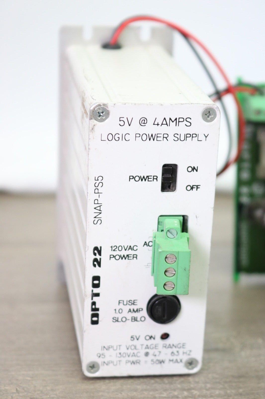 Opto 22 Logic Power Supply SNAP-PS5  1139a