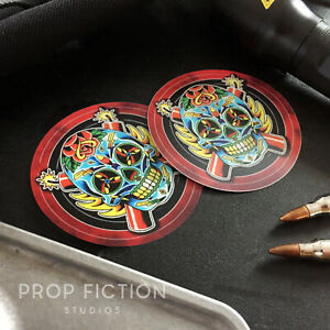 The-Expendables-Pair-of-Prop-Sugar-Skull-Set-Dressing-Vehicle-Case-Decals