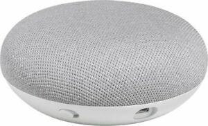 NEW-Google-Home-Mini-Smart-Small-Speaker-Chalk-Voice-Activated-with-Chromecast