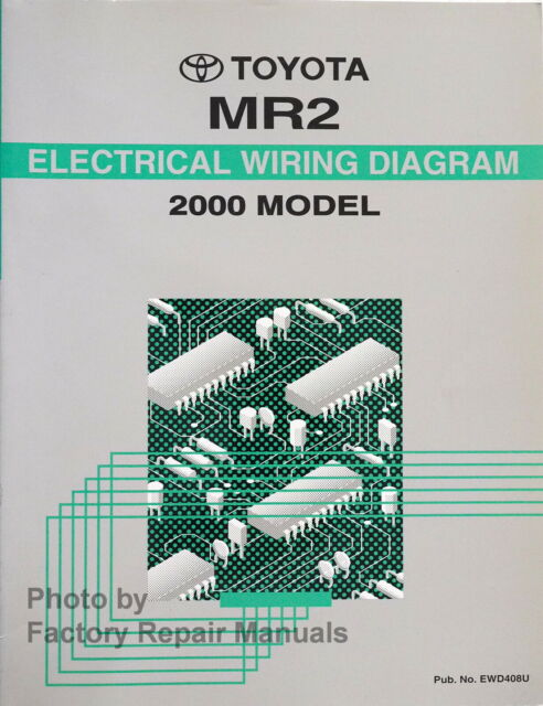 2000 Toyota Mr2 Electrical Wiring Diagrams Original