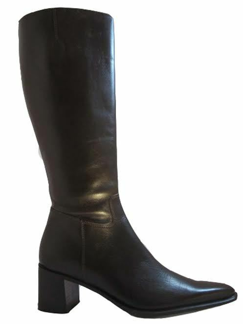 Davinci Italian Women's Knee High Medium Heel Boots 17047
