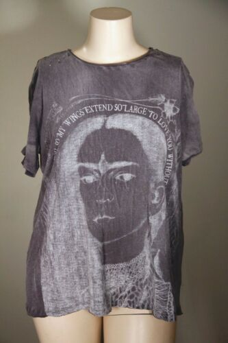 O Pearl Nwt s Magnolia In shirt Measure T Ozzy Boyfriend Frida with OOv5nrwq