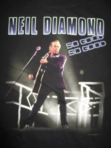 "2009 NEIL DIAMOND ""SO GOOD SO GOOD"" Concert Tour (2XL) T-Shirt"