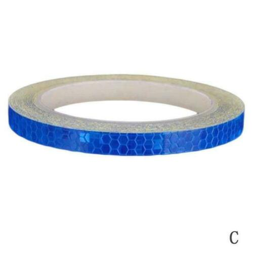 Reflective Tape Stickers Fluorescent MTB Bike Bicycle Tape Adhesive T8L5