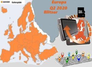 16 Gb Navigon Karten Update Eu Turr Russ Usa Q2 2020 Blitzer Alle