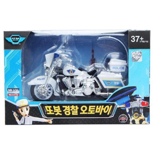 TOBOT Police Bike Metal TOY