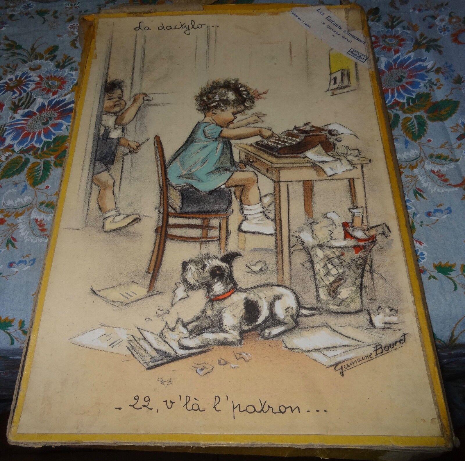 Grand puzzle Germaine Bouret jouets vera Paris la dactylo