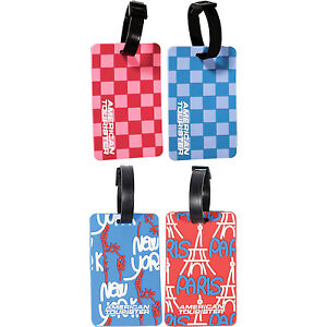 American-Tourister-Suitcase-Luggage-Baggage-ID-Tag-Choose-Your-Favorite-Design