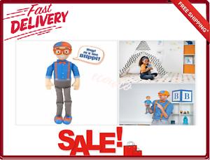 My Buddy Blippi Plush Figure 15 Recognizable Classic Sounds Phrases For Kids New Ebay