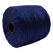 S-Lon Super-Lon Cord Navy Blue Size #18 Twisted Nylon 77 Yard Spool