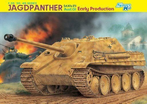 DRAGON 6458 1 35 Sd.Kfz.173 Jagdpanther Ausf.G1 Early Production