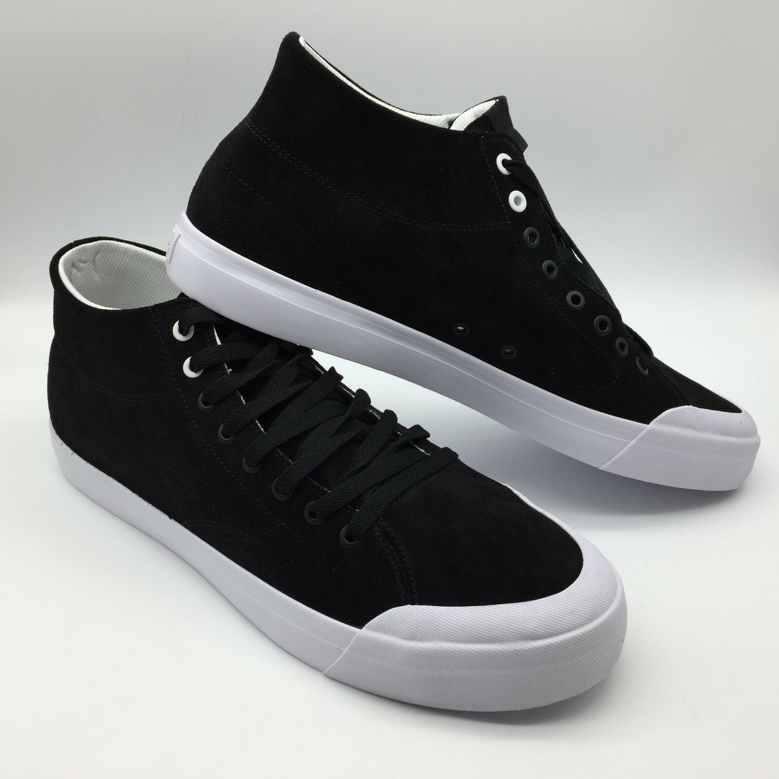 DC Men's shoes  Evan Smith Hi Zero  Black Black